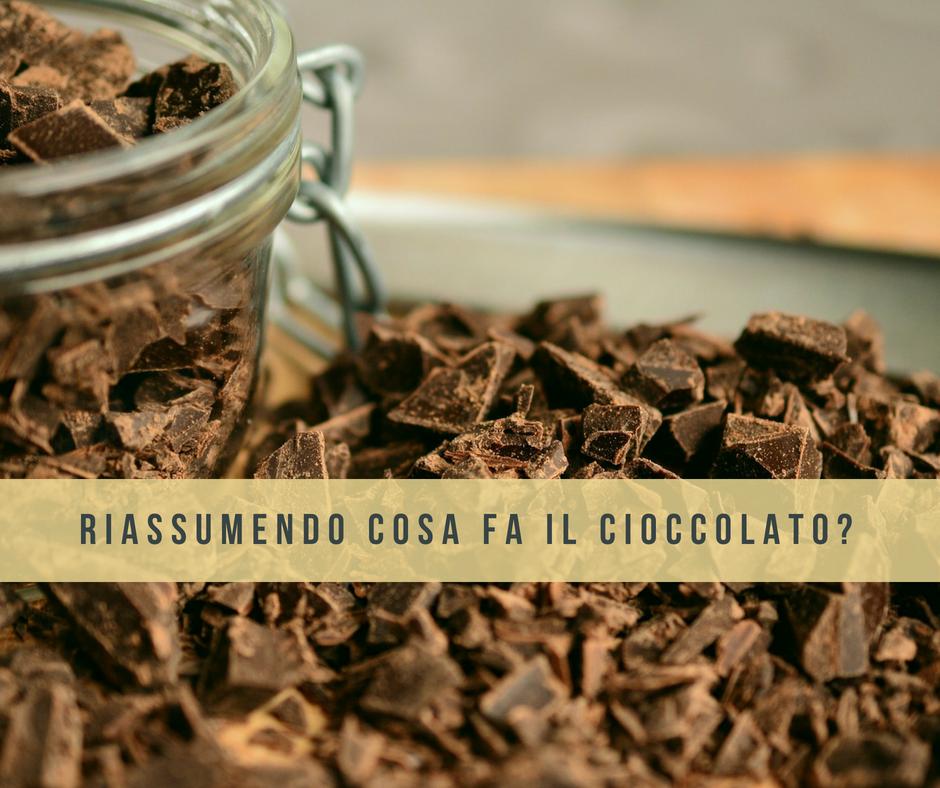 cioccolato non è un superfood