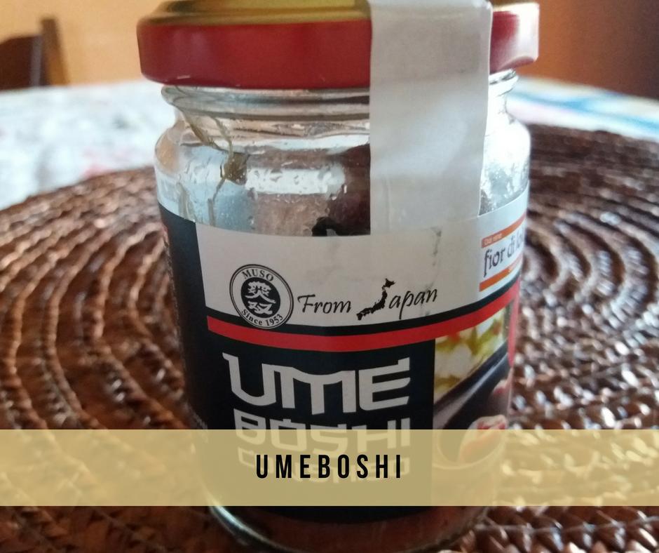 umeboshi e le sue proprietà