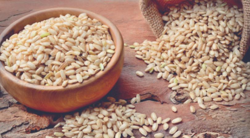 il riso cereale del polmone