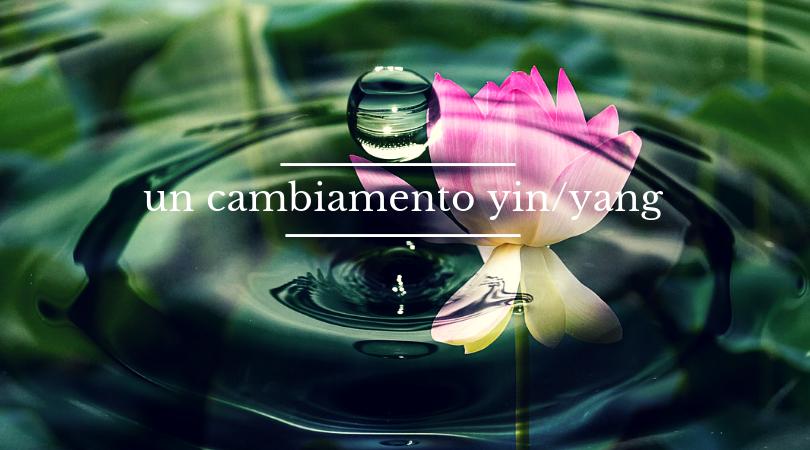 yin yang e il cambiamento