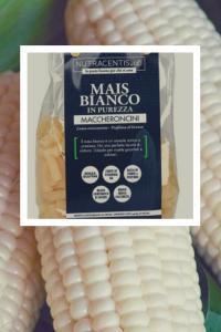 pasta di mais bianco