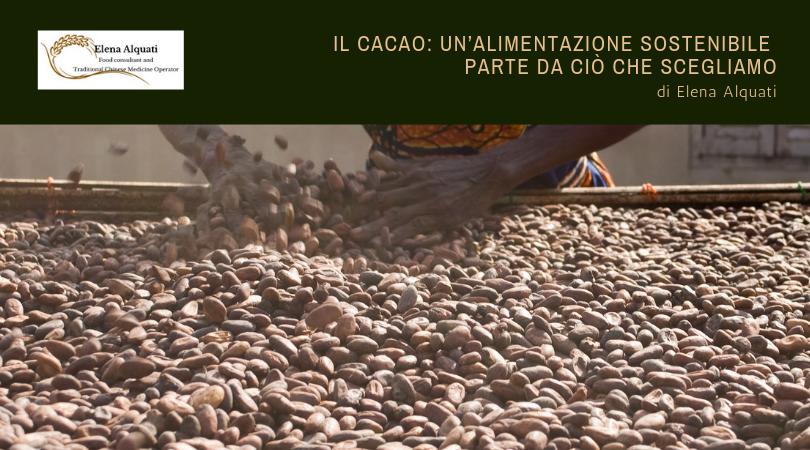 Cacao, Africa, sostenibile, ambiente