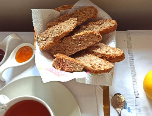 Gli avanzi come risorsa: Pane di riso cotto fermentato