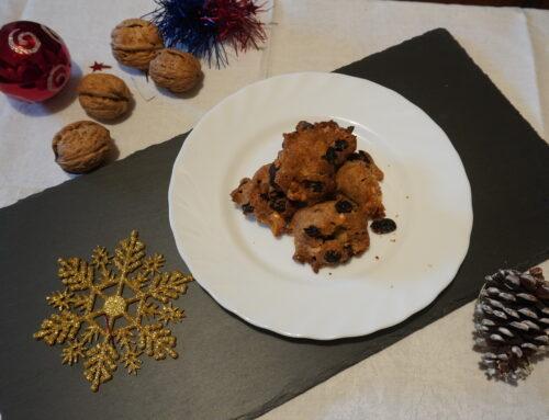 La semplicità fatta a biscotto: Biscotti con noci e uvetta
