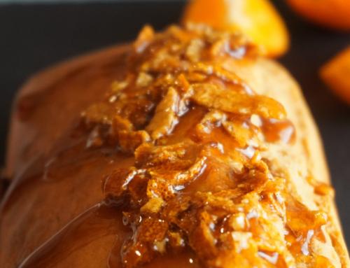 Chef in cucina: Plum cake al mandarino con glassa.